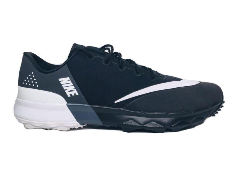 🔥NIKE FI FLEX 849960 001 Men's Golf Shoe White/Black Size 10 🔥