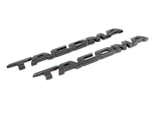 Matte Black V6 SR5 Emblems For Toyota 2012 2013 2014