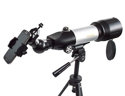 Universal mobile phone adapter for telescopes and binoculars