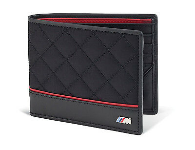 Bmw Genuine Logo Mens M Performance Wallet   Black  80212336954