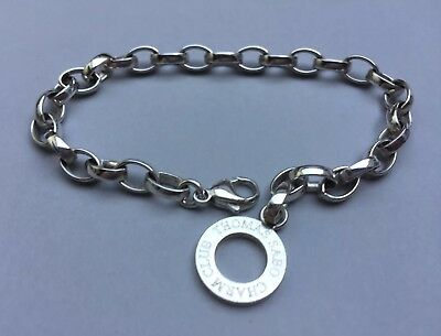 Thomas Sabo Silver Classic Chunky Charm Bracelet - 21cm Long - Large Link