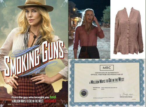 A Million Ways to Die in the West - Charlize Theron Screen Worn Top w/Studio COA
