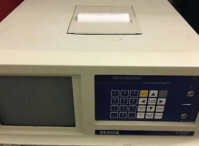 Teknar Mentor Ophthasonic A-scanpachometer Iii Model 100-048-000