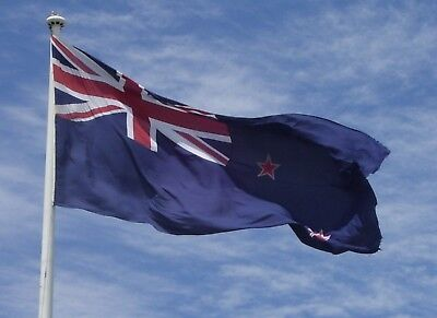 Giant Flag Of New Zealand Kiwi NZ Rugby World Cup