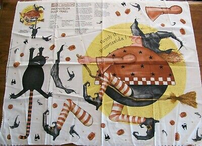 Cut & Sew Broomzelda Door Panel Decoration Halloween Fabric Craft Project