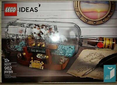 LEGO Ideas Ship in a Bottle #92177  BRAND NEW FACTORY SEALED