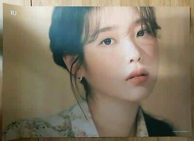 K-POP IU Limited Poster - Official April 2020 Limited Goods