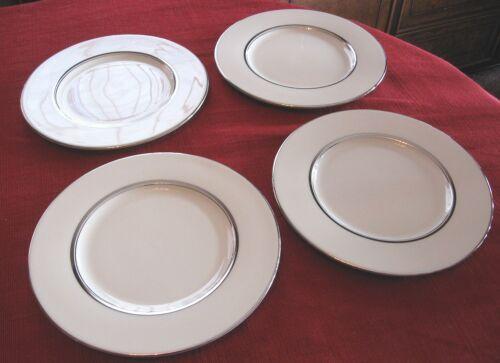 Castleton China Severn Salad plates   lot of 4 Beautiful USA. 8 3/8 FREE SHIP!!
