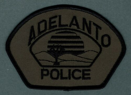 Adelanto California Police Patch