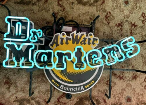 Doctor Martens AIRWAIR Foot Ware Neon Advertising Sign
