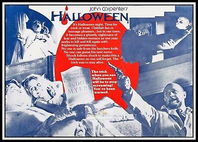 Halloween 6  Horror Movie Posters Classic & Vintage Cinema