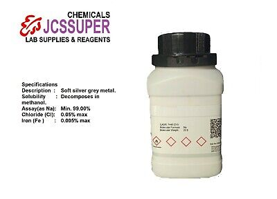 100 Pure Sodium Metal Na With Msds And Coa 7440-23-5 Worldwide Delivery