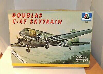 Italeri DOUGLAS C-47 SKYTRAIN 127 in Open Box 1:72 scale
