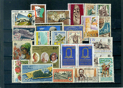 nice lot former FRENCH AFRICA, all postally used