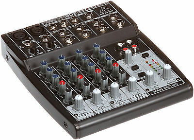 Behringer Xenyx 802 Premium 2-Bus Mixer Xenyx802 Audio DJ Mixing Board NEW!!!. Buy it now for 83.55
