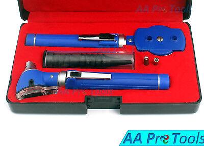 Medical Diagnostic Set Fiber Optic Otoscope Direct Ophthalmoscope Otoscope Led