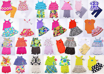 NWT Girls Outfit  Skirt Skort Short Leggings Set Carters NEW 3m 6m 9m 12m 18m