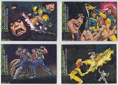 1994 Fleer Ultra X-Men X-Men's Greatest Battles You Pick Finish Your Set Sterling Mens Baseball