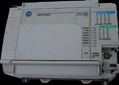 Allen Bradley Micrologix 1500 Base Unit 1764-28bxb And Processor