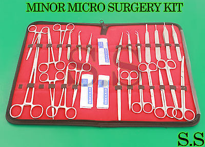67 Pc Minor Micro Surgery Surgical Veterinary Dental Instruments Student Ds-869