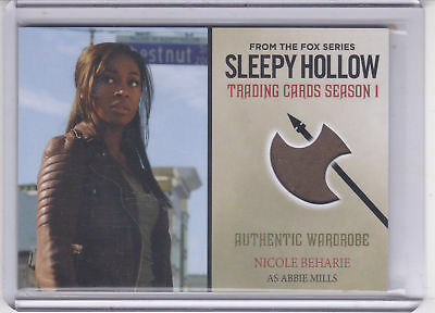 2015 Nicole Beharie Cryptozoic Sleepy Hollow Season One Wardrobe Card Abbie M01
