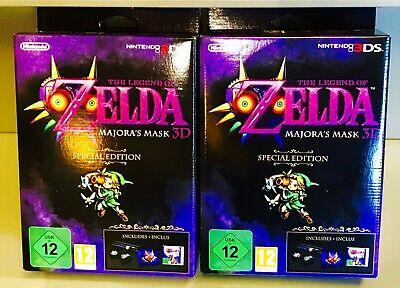 The Legend Of Zelda Majora's Mask 3D Special Edition FRA Neuf collector 3DS