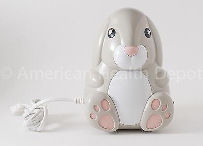 Child Kids Pediatric Nebulizer Aerosol Compressor For Asthma Copd Bunny Model
