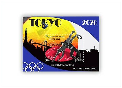 Kosovo Stamps 2021. Olympic Games: Tokyo 2020. Block MNH