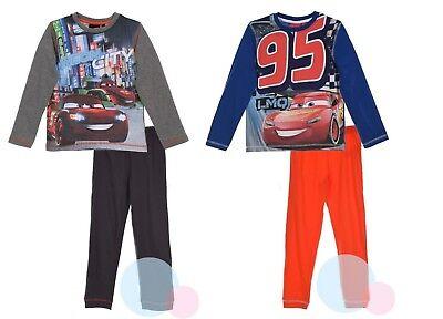 Disney McQueen Cars Kinser Pyjama Schlafanzug  für Jungen Gr. 98 104 116 128 ()