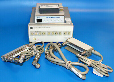 Lot Agilent 11713a Attenuator 8494g8496gics 4899 Modbus 488-usb Controller