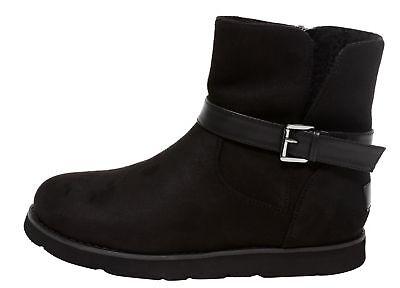 Fashion Stiefel (Damen Fashion Stiefelette Bootie Kurzstiefel Gr. 37-41 Stiefel Boots schwarz)