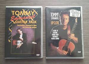 2 TOMMY EMMANUEL GUITAR TUITION DVDs Craigieburn Hume Area Preview
