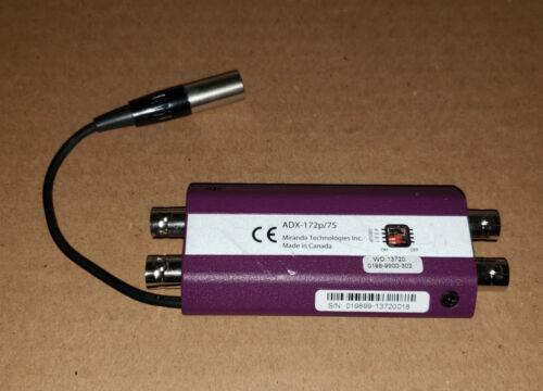 Miranda Picolink ADX-172p/75 LKS-WSU Audio Video Converter NO Power Supply