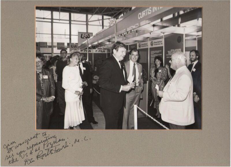 Congressman Dan Rostenkowski autographed photo