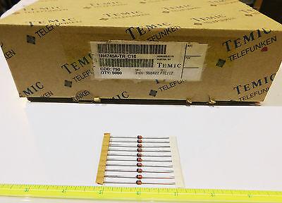 16v 1w Zener Diode - 5 Tolerance - Telefunken 1n4745a Tapereel Lot Of 50