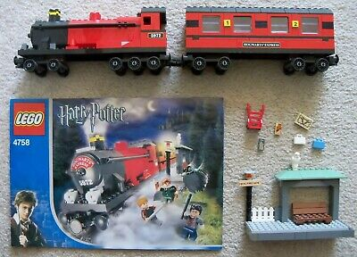 1x4 PLATE//TILE HOGSMEADE SET 4758 HOGWARTS EXPRESS LEGO HARRY POTTER 1
