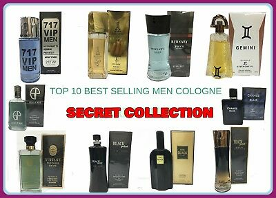 TOP 10 BEST SELLING COLOGNE OF MEN'S BY SECRET COLLECTION 3.4 OZ NEW IN BOX  (Top Best Mens Cologne)