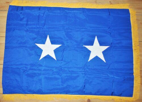 Phila. Quartermaster Depot Marked 2 Star General Field Flag - VN Era