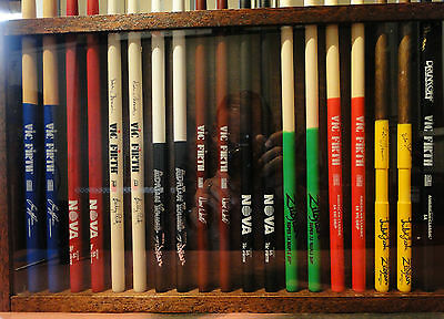 Custom Drum Stick Display Case Holds 20 sticks