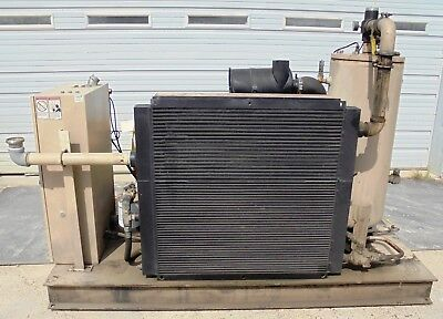 Curtis Rotary Screw Air Compressor Rs75d Ae E25g 2.704 Hp 75 Cfm 365 2005