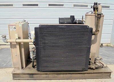 Curtis Rotary Screw Air Compressor Rs75d Ae E25g 2.704 Hp 75 Cfm 365 2005