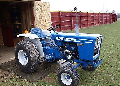 Ford 1100 - 2110 Tractors Workshop Manual