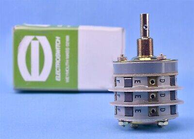 Electroswitch 3p3t Rotary Switch Pn 33903lk 9041