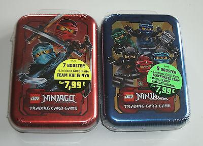 LEGO Ninjago Serie 2 Trading Card Game - Mini Tin A + B Neu &