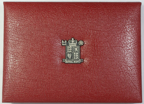 1997 Royal Mint Deluxe United Kingdom Proof Coin Collection 10 Coin Set w COA