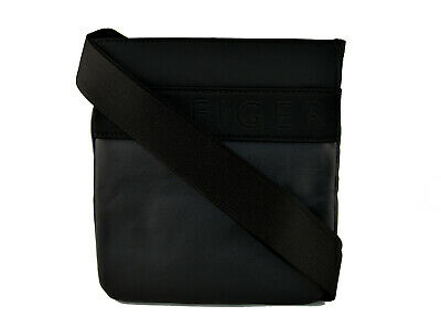 TOMMY HILFIGER Herren Umhängetasche Crossbag Shoulder Bag Flat S Schwarz NEU
