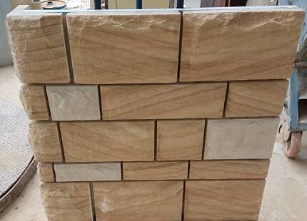 Sandstone Cladding - Rockfaced 50mm