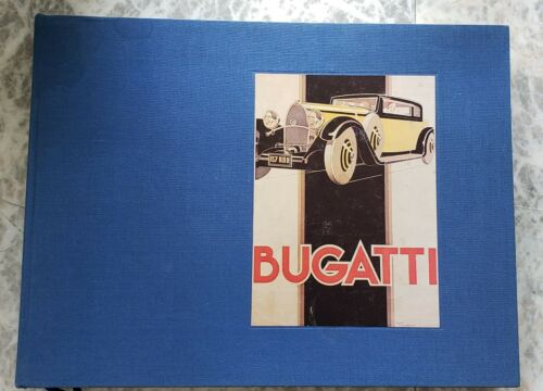 Collection-Bugatti Items: Conway-Greilsamer book, many pics, cards, stickers...