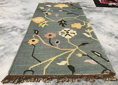 Large 7x9 9x11 Indian Rug
