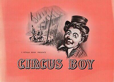 """Circus Boy"" – James Kenney"